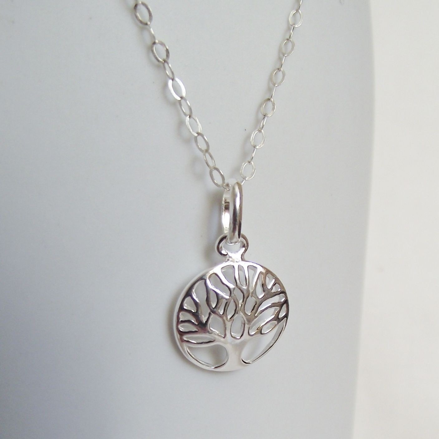 Handmade solid sterling silver tree of life pendant stunning gift gorgeous handmade solid sterling silver tree of life pendant stunning gift mozeypictures Gallery